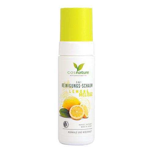 Почистваща пяна за лице с лимон и маточина
