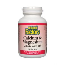 Calcium & Magnesium Citrate With Vitamin D3 Capsules