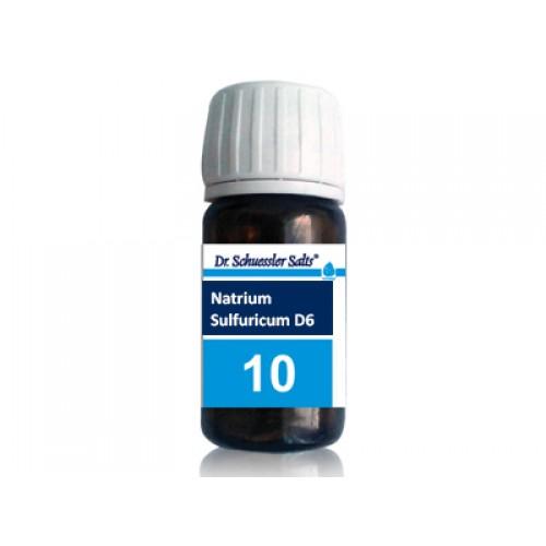Шуслерова сол №10 – Натриум сулфурикум  1
