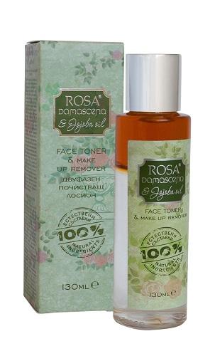 Двуфазен почистващ лосион Роза 1