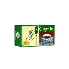 Зелен чай с джинджифил 1