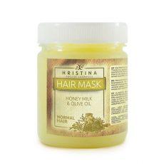 Маска за коса с мед, мляко и зехтин 1