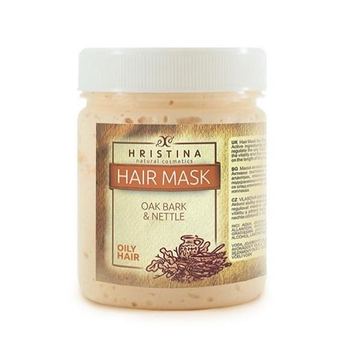 Маска за коса с дъбови кори