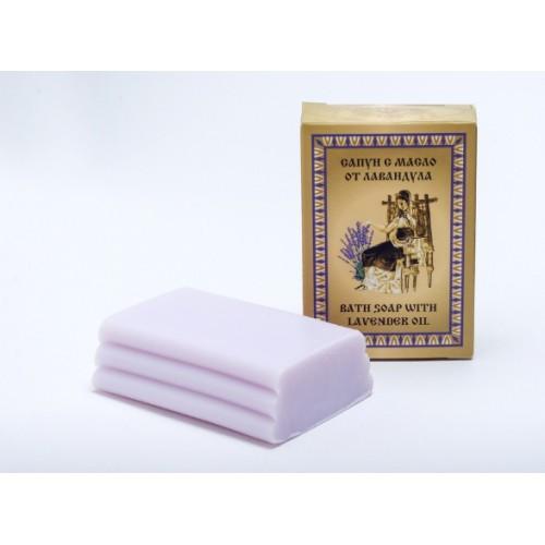 Сапун за ръце и тяло с етерично масло от лавандула  1