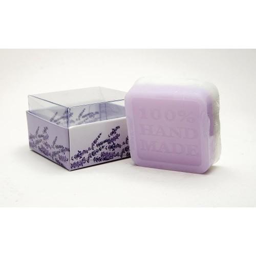Ръчно приготвен сапун с етерично масло от лавандула – 60 г 1