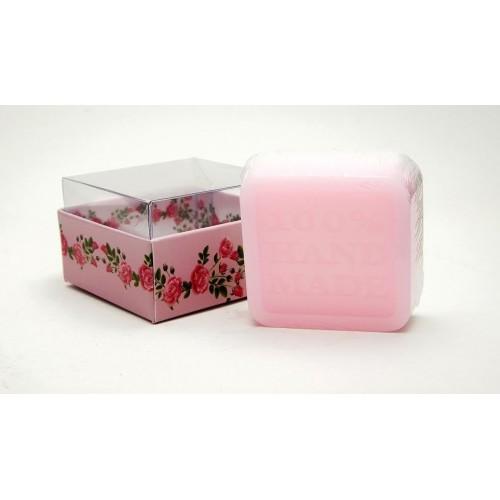 Ръчно приготвен сапун с абсолю от рози – 60 г 1