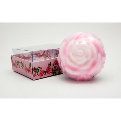 Ръчно приготвен сапун с абсолю от рози – 90 г 1
