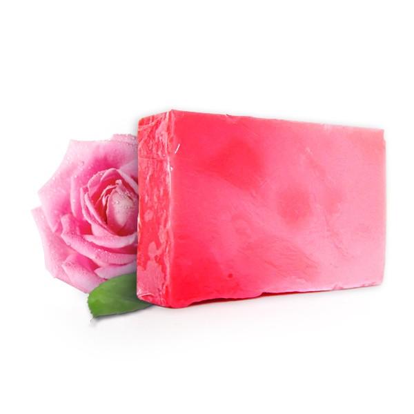 Ръчно приготвен сапун с масло от българска роза  1
