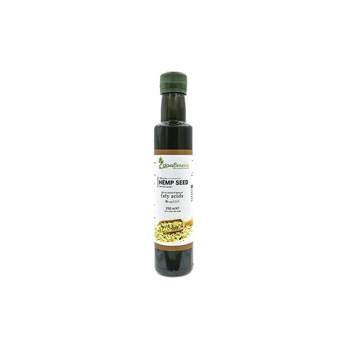 Студено пресовано конопено масло - 250 мл
