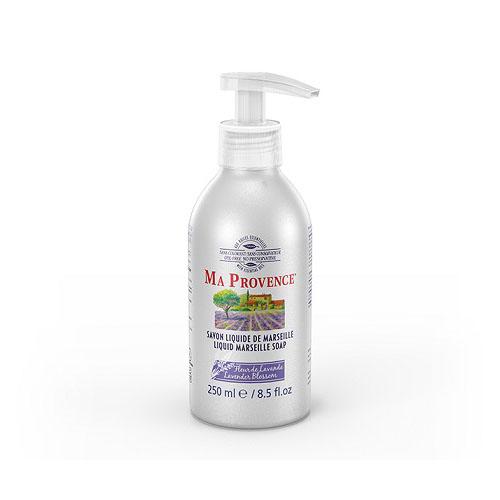 Течен сапун за ръце с цвят от лавандула