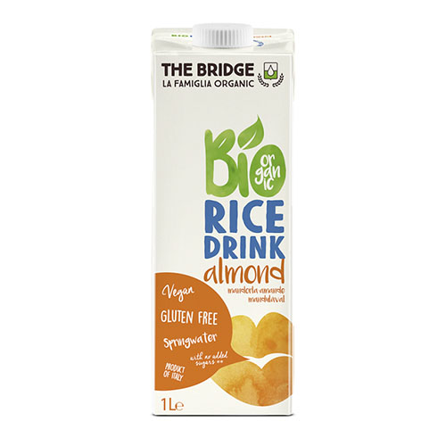 Био оризово-бадемова напитка
