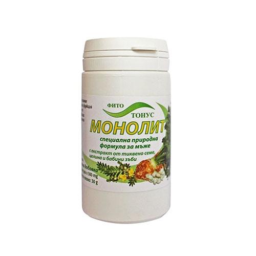 Фитотонус Монолит - 60 капсули