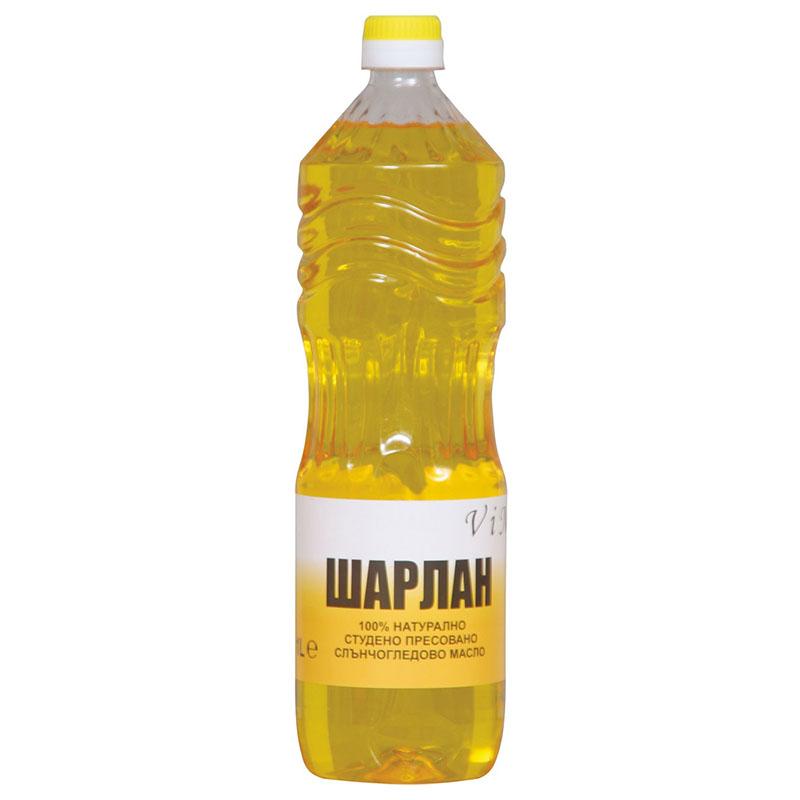 Студено пресовано слънчогледово масло (шарлан) – 1 л  1