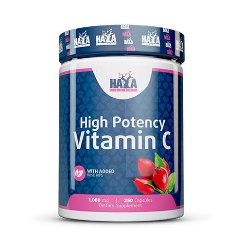 Високо потенциран витамин C с шипки - 250 капсули