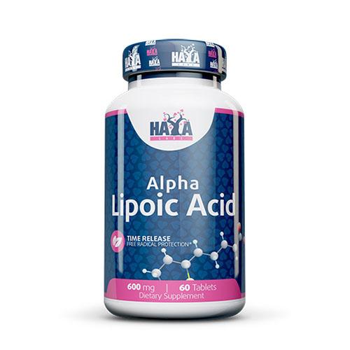 Алфа-липоева киселина - 60 таблетки (600 мг)