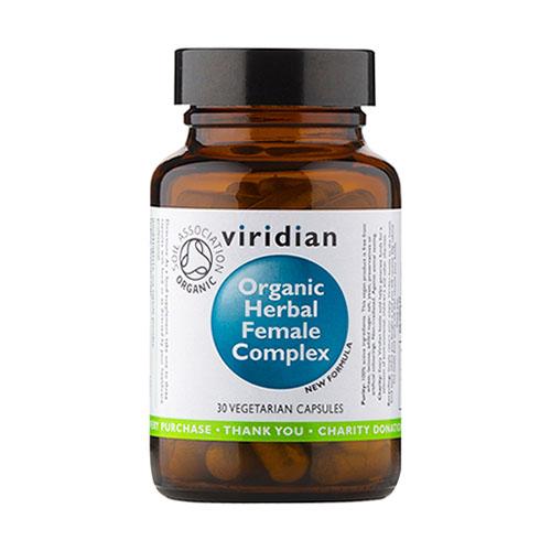 Органичен билков комплекс за жени - 30 капсули