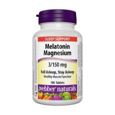 Мелатонин с магнезий – 100 таблетки 1