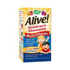 Alive! Children's Chewable Multivitamin Tablets